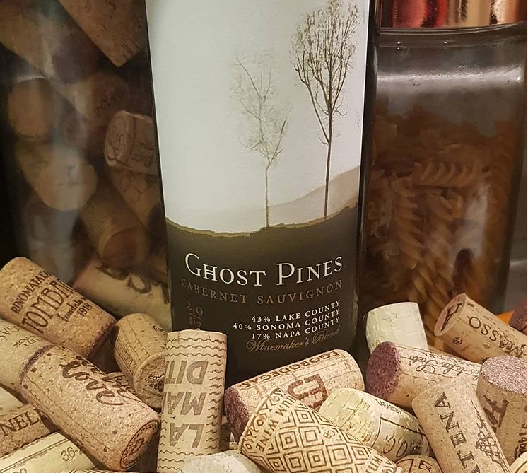 The Wine Bluff - Ghost Pines, Cabernet Sauvignon